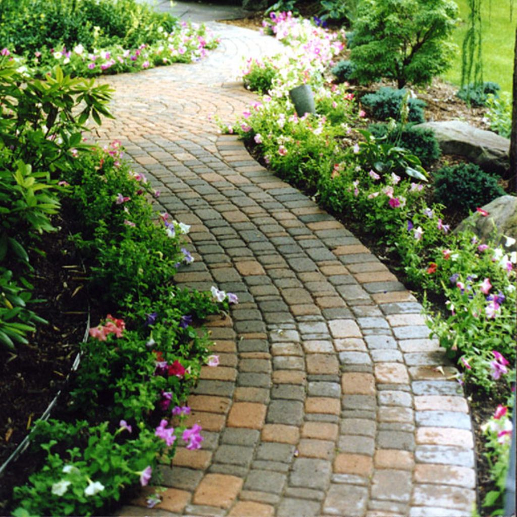 Brick Paver Edging Edging Applications  Brick Paver  Permaloc Corporation