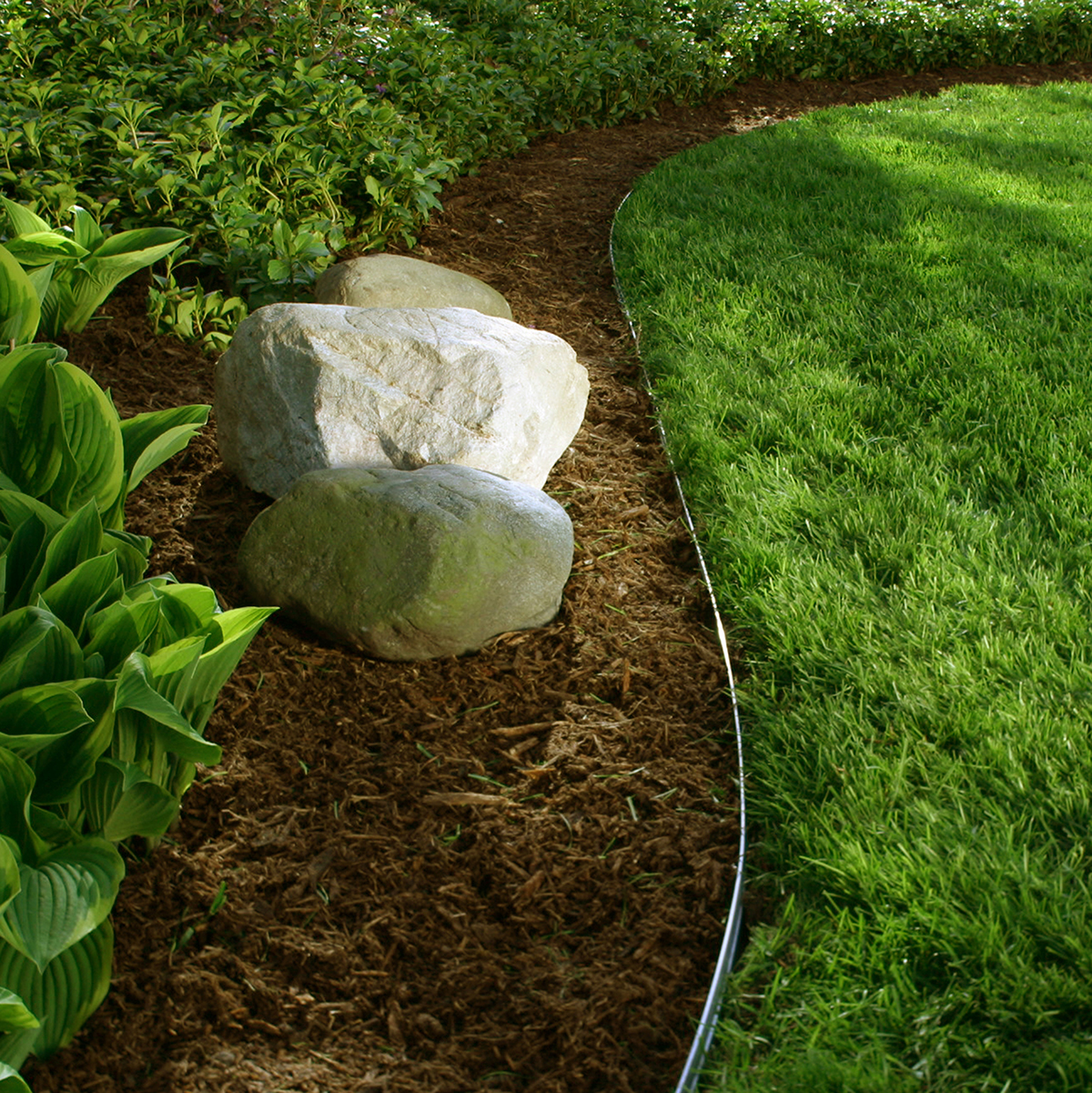 Permaloc Aluminum Edging - Landscape Bed